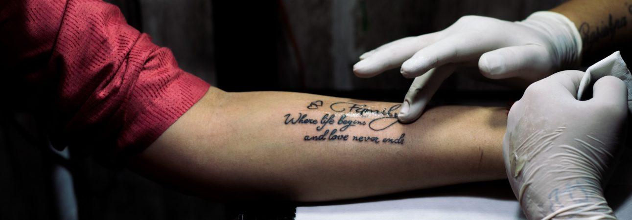 Pielęgnacja Tatuażu Kobiece Tematy